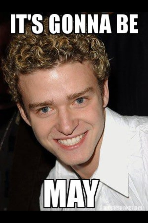 Justin Timberlake - It's gonna be MAY